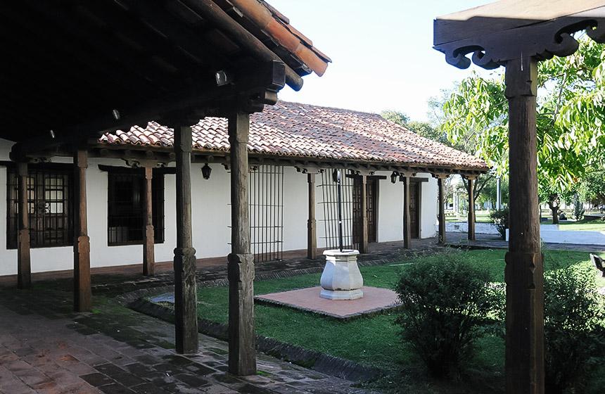 Patio del Convento en santa fe